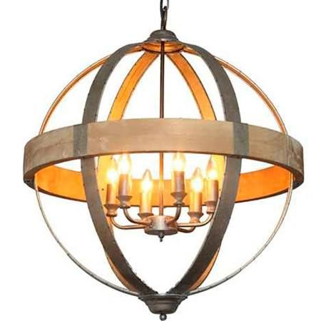 Wood And Metal Chandelier Google Search