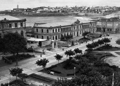 Plaza Pontevedra 1957