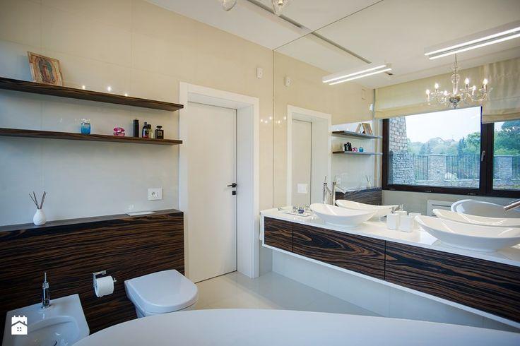 Łazienka styl Glamour - zdjęcie od DALMIKO DESIGN Pracownia Projektowa - Łazienka - Styl Glamour - DALMIKO DESIGN Pracownia Projektowa
