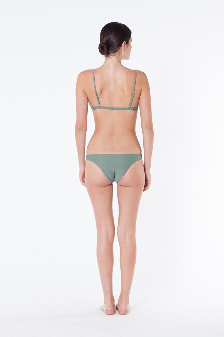 GIA PANT OLIVE - SWIMWEAR - WOMENS Assembly Label