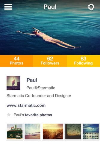 profile on Starmatic
