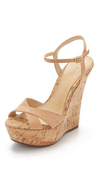Schutz Emiliana Wedge Sandals   SHOPBOP