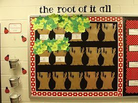 "Greek and Latin Roots~  Fun way to bring in spring, adding ""leaves"" with new words learned during each lesson."