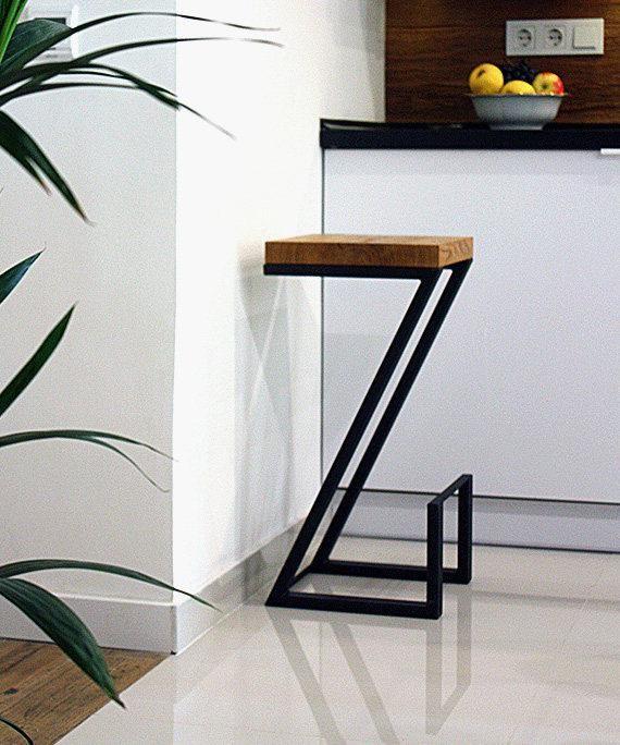 Contemporary bar chair, Z by Soxoni, bar stool, modern furniture, still bar chair, furniture for bar, chair for bar, wood furniture