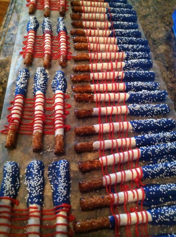 Captain America pretzels