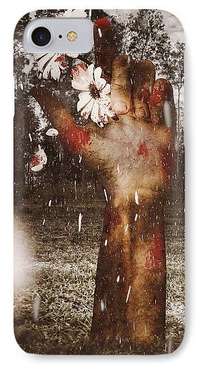 Horror IPhone 7 Case featuring the photograph In Love And Death by Jorgo Photography - Wall Art Gallery