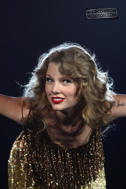 Taylor Swift - Speak Now World Tour - Minute Maid Park - Houston Texas