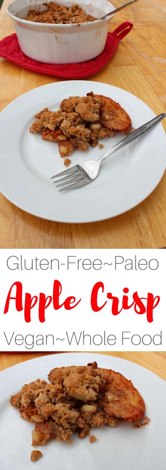 Easy Paleo Apple Crisp Recipe