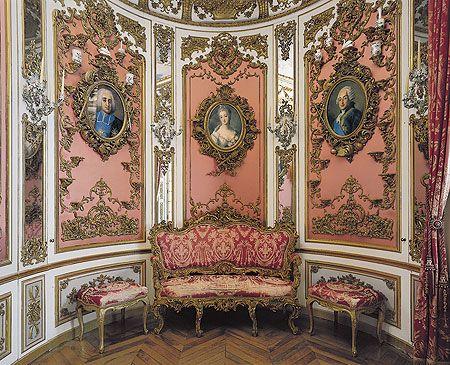 Pink Cabinet. Schloss Linderhof