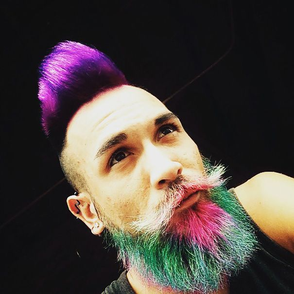 Best 25+ Color beard ideas on Pinterest | Different styles of ...