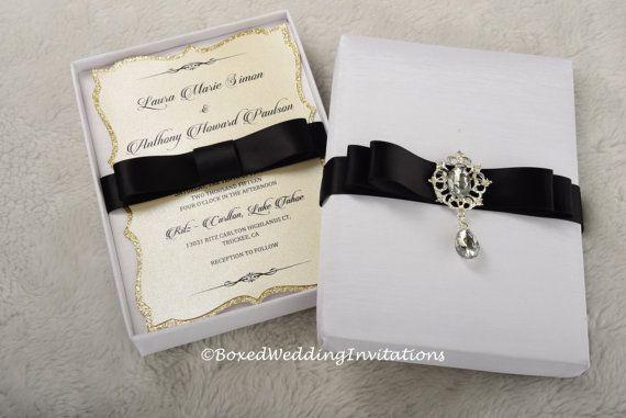 Gift Box Wedding Invitations: Best 25+ Box Invitations Ideas On Pinterest