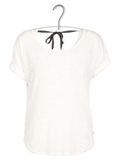 E-shop Harris Wilson - Tee-shirt En Lin Décolleté Dos Blanc Harris Wilson pour femme sur Place des tendances Groupe Printemps. Retrouvez toute la collection Harris Wilson pour femme.