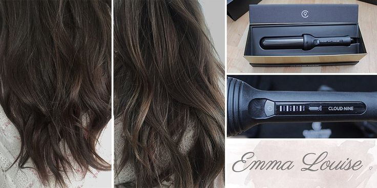 'Il Waving Wand mi permette di creare delle onde professionali e stilose come piacciono a me. La misura è perfetta per i miei capelli lunghi'. Emma Luise