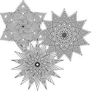 Geometrip.com - Free Geometric Coloring Designs - Choose a Category