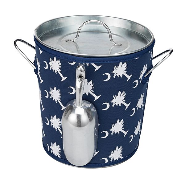 Ice Bucket Cover ONLY-Palmetto Moon - Occasionally Made - Classic Gifts with a Trendy Twist!