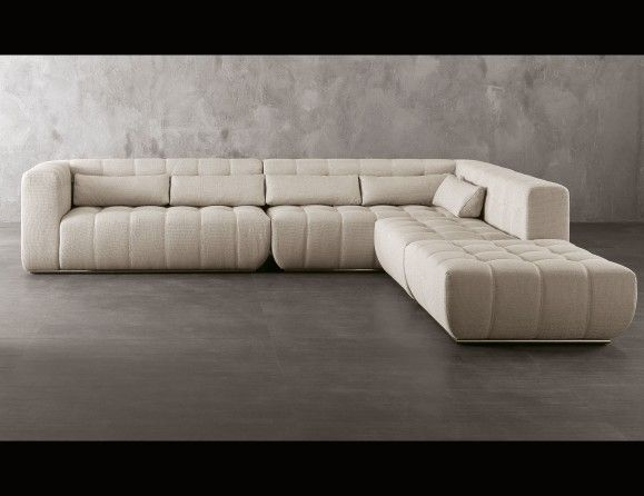 Nella Vetrina Rugiano Poker 6046/A upholstered Sofa