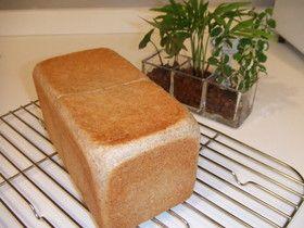 サンドイッチに最適♪全粒粉の角食パン by たまごろう [クックパッド] 簡単おいしいみんなのレシピが245万品