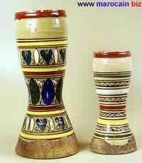 La taarija et la darbuqqa - Instrument de musique marocaine