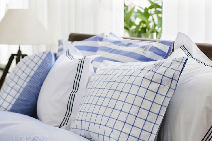 Avenue Blue Bedding - Parcale 100% Cotton. 220 TC.  By Newport Collection
