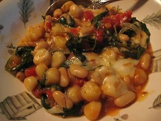 Skillet Gnocchi With Chard And White Beans Recipe - Food.com - 367677