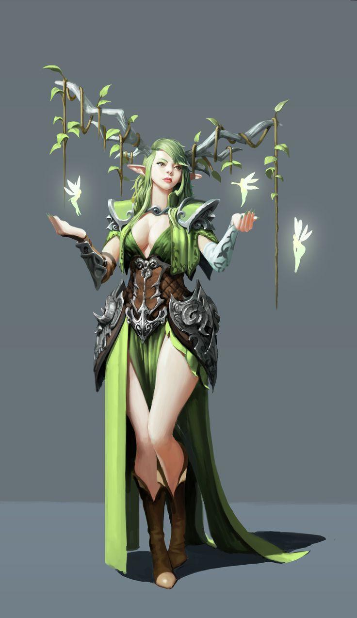 ArtStation - Elf : faily, Lee Dong Sub