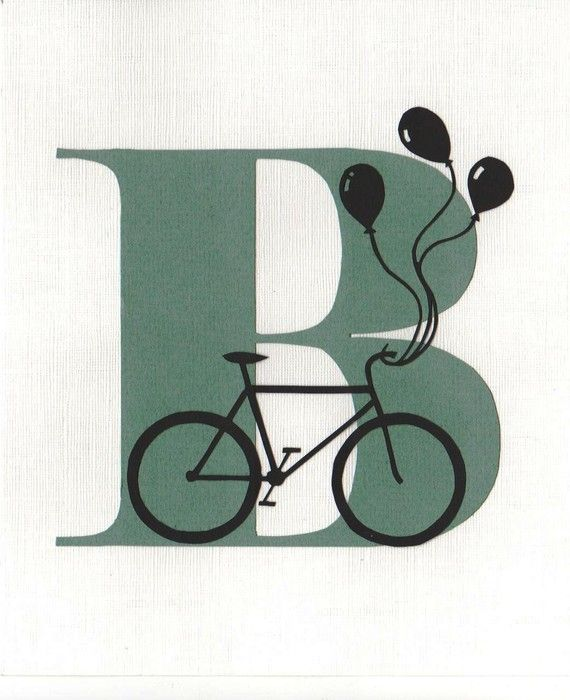 B is for Bike  Original Papercut Art by samaki on Etsy, $60.00