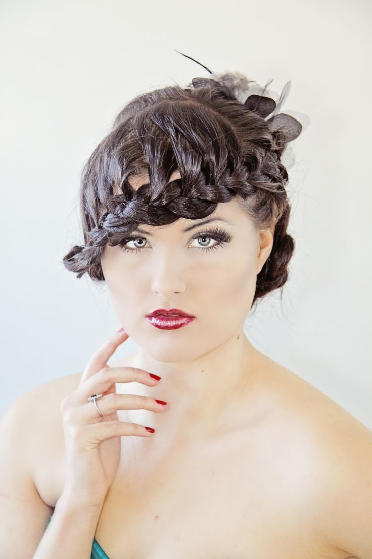 Love this 20's Inspired Hairstyle By Tina Monz