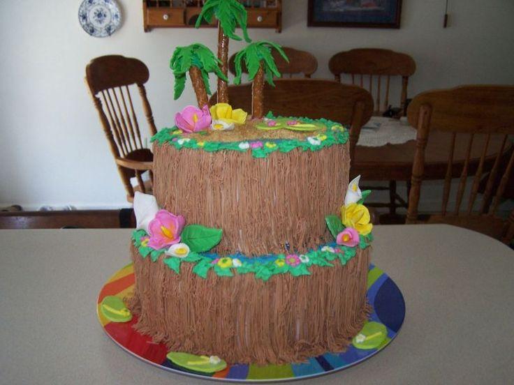 Hawaiian Luau Cake Ideas | hawaiian theme cake 10 10 from 49 votes hawaiian theme cake 9 10 from ...