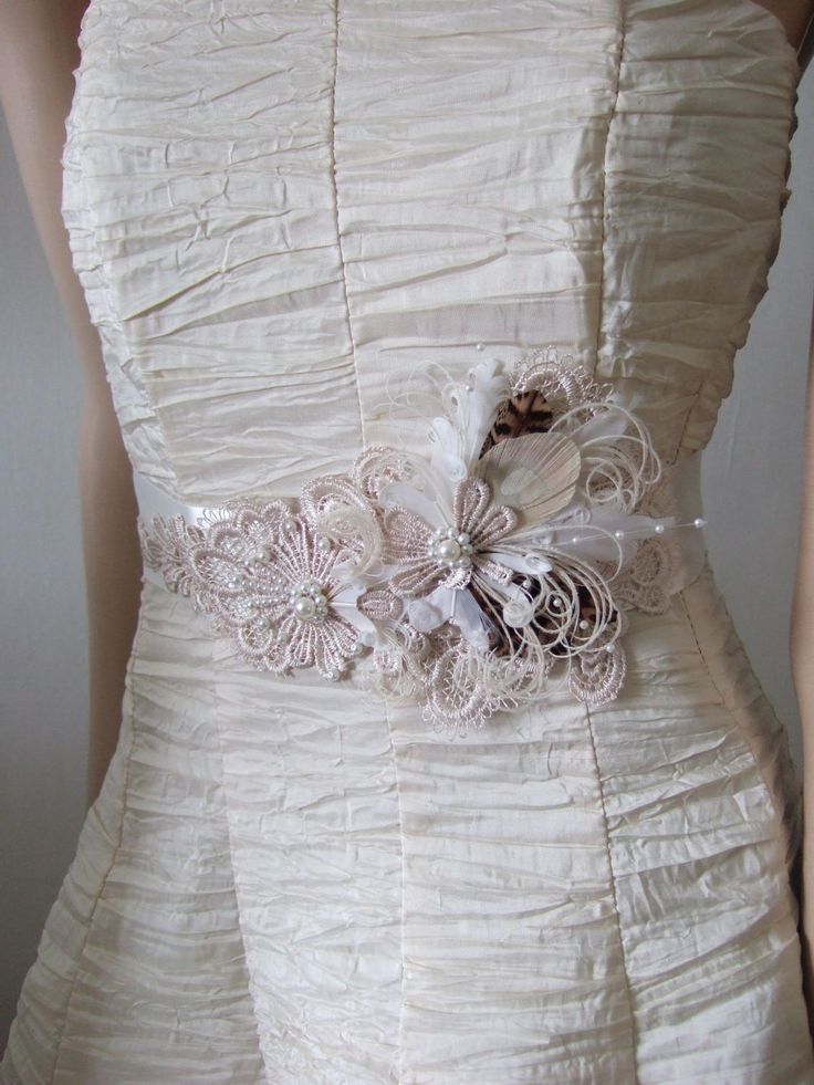 78 best ideas about bridal sash belt on