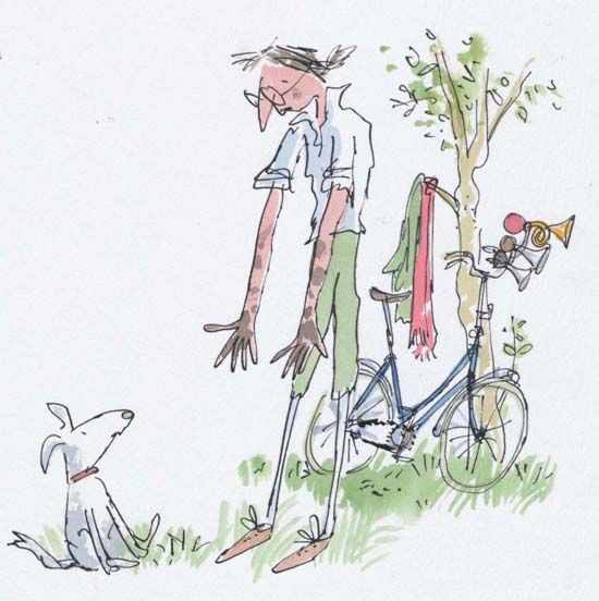 Image result for quentin blake insect