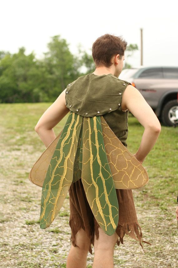 Adult Male Fairy Grasshopper Wings by twomomsltd on Etsy, $75.00