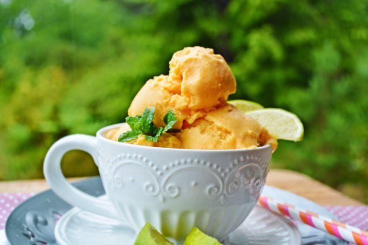 Troll a konyhámban: Karibi sárgarépás mangós fagyi - paleo