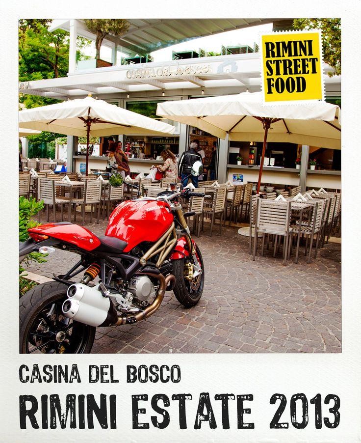 Casina del Bosco #rimini #food #streetfood #ducati