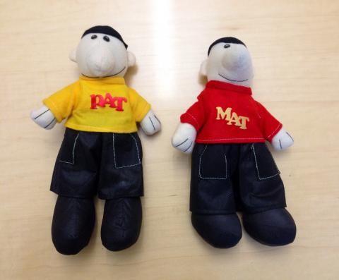 Pat & Mat dolls #carolinanavigators #globaled