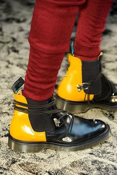 Pringle of Scotland amazing Air Wear Chelsea Boots #chelseaboots #pringleofscotland #yellow #fashion #style #menswear #shoes