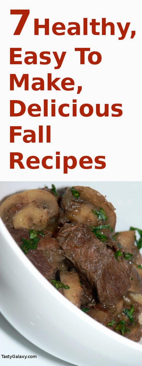 Healthy, easy to make, delicious fall recipes. Choose from stews, salads, risottos and other delicious, healthy and easy to make fall recipes.