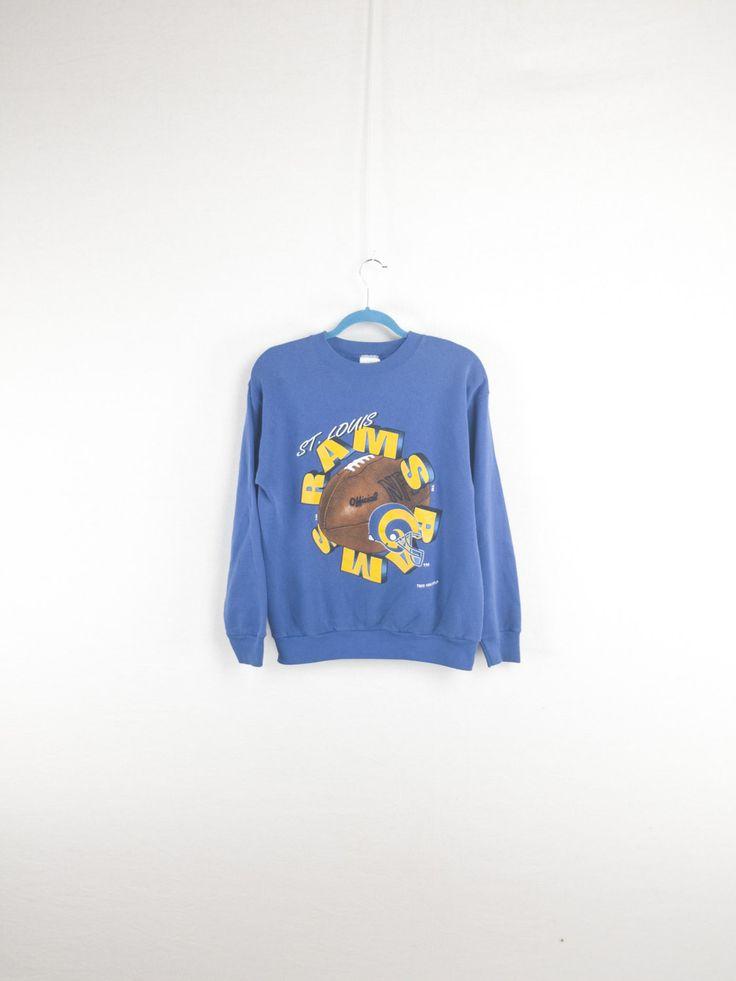 Blue Rams 90's NFL Sweatshirt