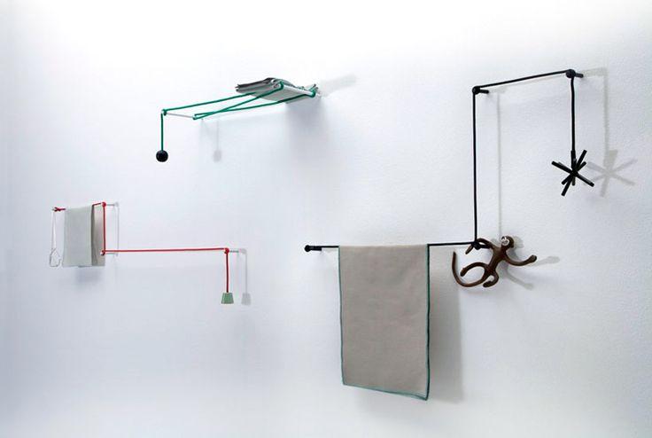 Minimalism - DIY: Towel hanger by Hiroomi Tahara