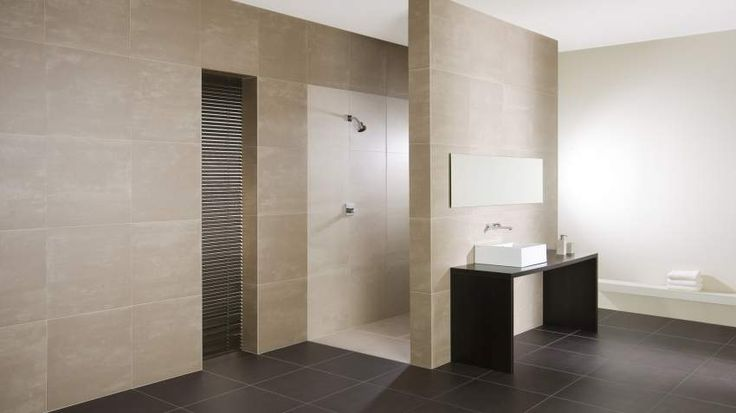Mooie lichte badkamertegels home sweet home pinterest badkamer tegels en kleuren - Modern badkamer tegel idee ...