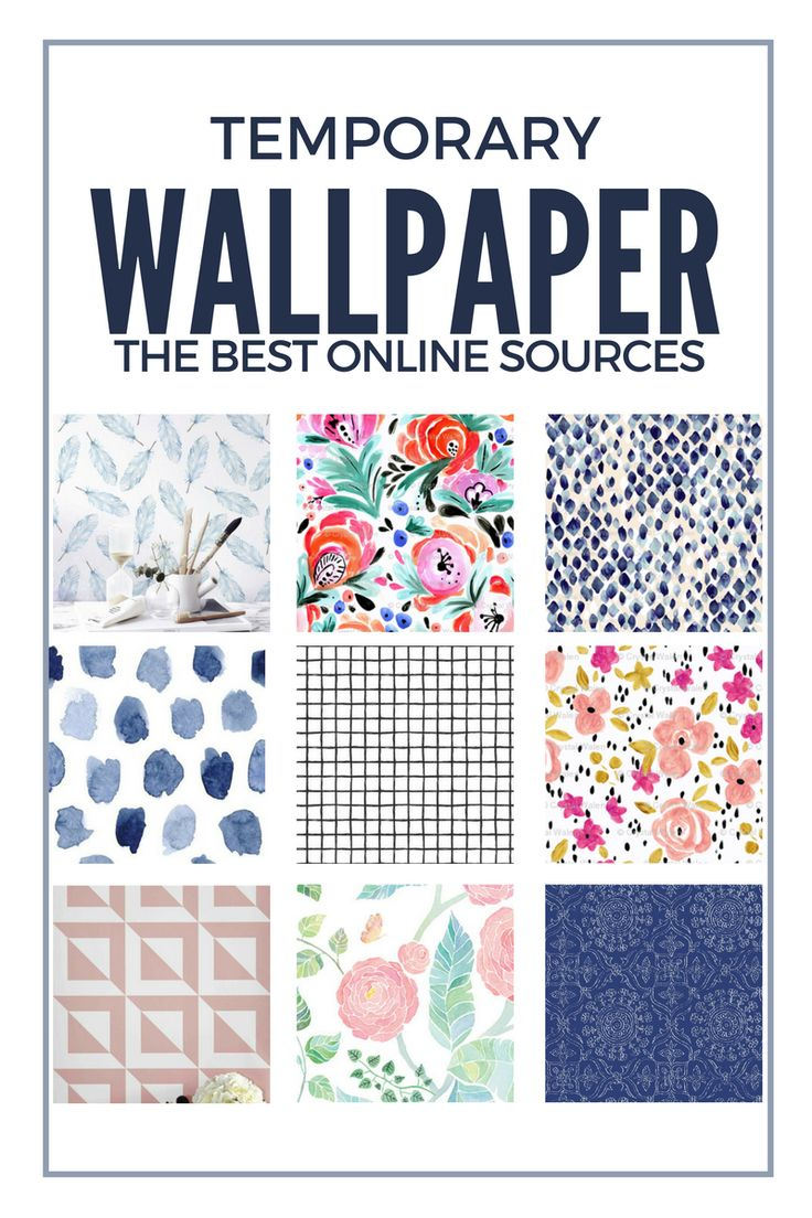 Where to buy temporary wallpaper (removable wallpaper)