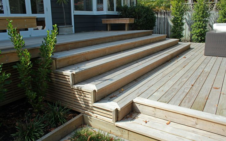 Decking Steps - Remuera