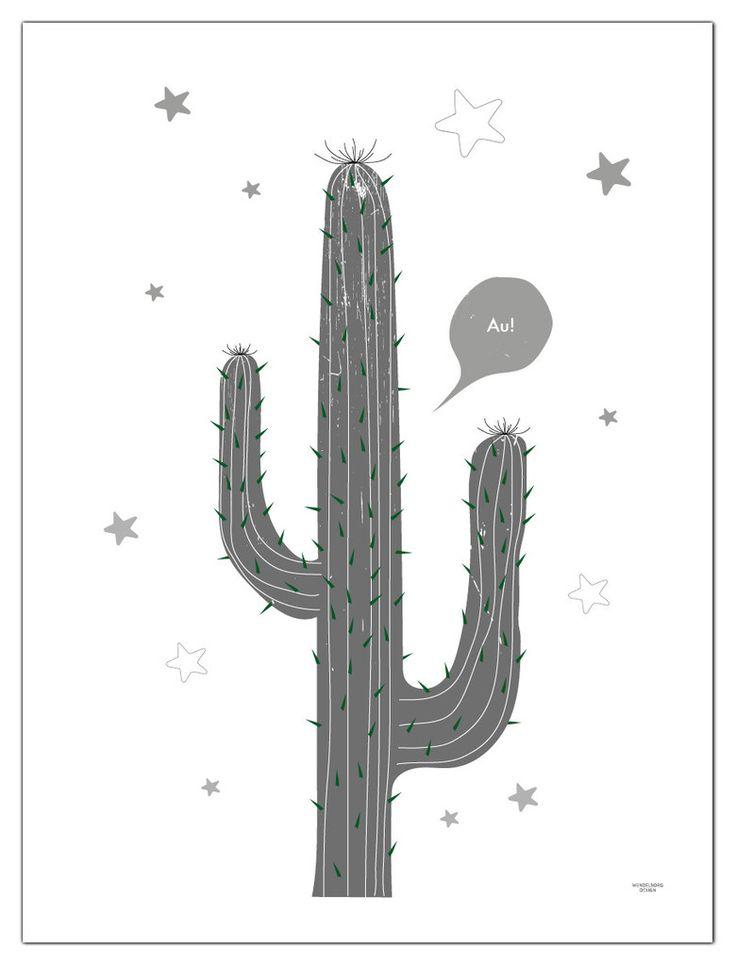 Plakat Kaktus