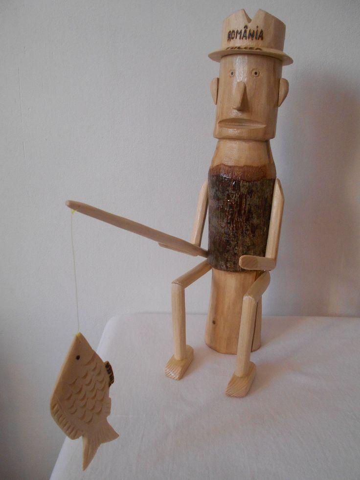 Și, ca în povești, bucata de lemn a prins viață. Povestea sculptorului Emanuel Honț și a meșteșugului său