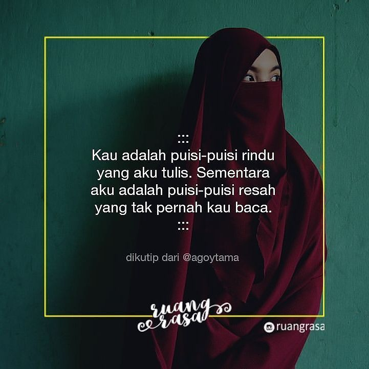 Kau adalah puisi.   _____ Jika berkenan silahkan dibagikan. Jika tidak berkenan perkenankanlah! _____ #paraperasa #ruangrasa #puisi #prosa #cerita #cinta #hati #rindu #puisirindu #sastra #berbagirasa #puisilover #puisi #sastra #sajak #rumahpuisi #rindu #sastra #berbagirasa #cinta #sastra #pujangga #penyair #author #indonesia #quotedaily #poetry #lovepoetry #rumahpuisi #puisiindonesia #prosanusantara #doa #jomblo #jombloquotes #kutipan #yangterdalam #puisicinta #motivasi http://ift.tt/2f12zSN