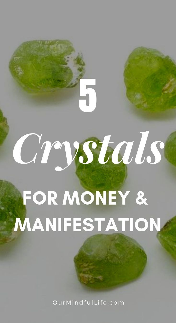 5 healing crystals that attract money - OurMindfulLife com