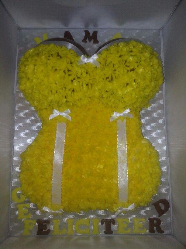 Lingerie taart