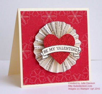 Julie's Stamping Spot -- Stampin' Up! Project Ideas Posted Daily: February 2012
