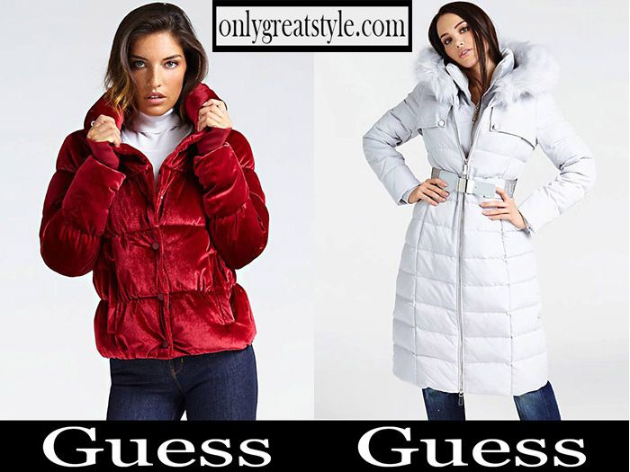 promo code 1dccd cb314 New arrivals Guess down jackets 2018 2019 women's fall ...
