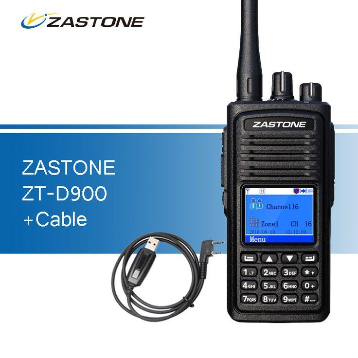 Zastone D900 Walkie Talkie UHF 400-480MHz DMR Digital Ham Radio 1000 Channels Two Way Radio Portable Walkie Talkies for Hunting