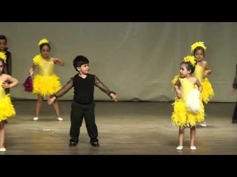 Muhteşem dans (5-6 yaş) mutlu olan herkes el kaldırsın - YouTube